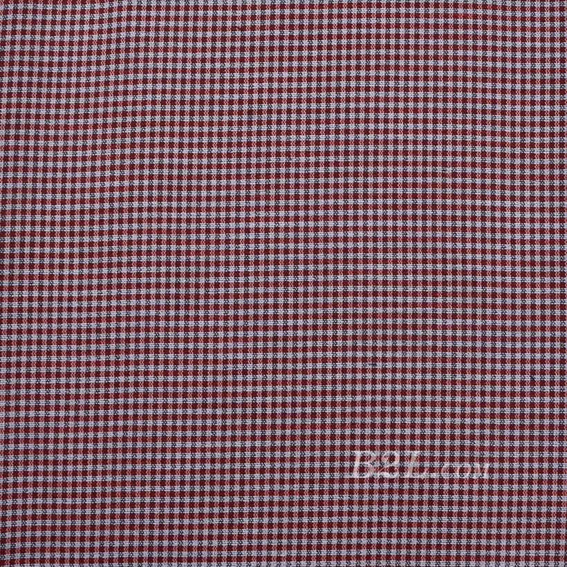 格子 棉感 色织 平纹 外套 衬衫 上衣 70622-53