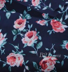 花朵 針織 印花 低彈 微彈 連衣裙 外套 短裙 60526-20