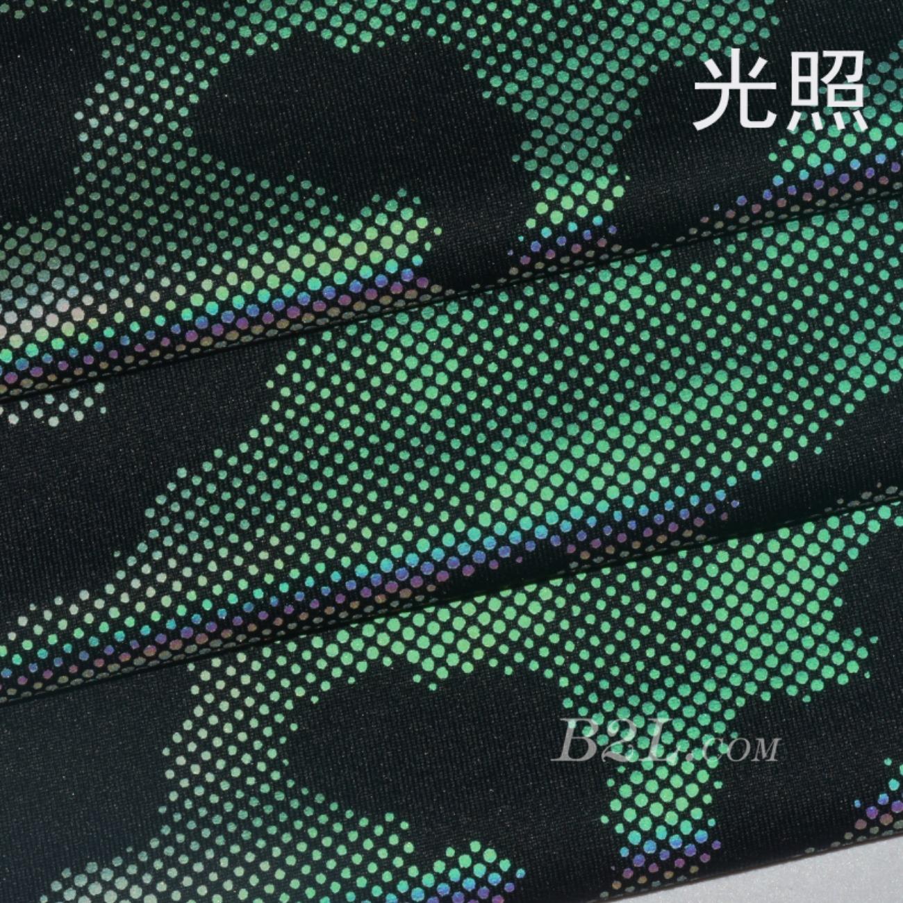印花 涂层 不规则 迷彩 七彩 渐变 春秋 时装 连衣裙 运动服 90617-23
