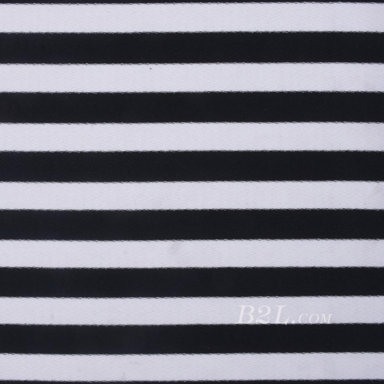 条子 横条 圆机 针织 纬编 棉感 弹力  T恤 针织衫 连衣裙 男装 女装 80131-47