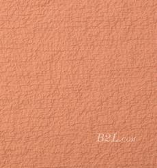 梭织染色素色绉布泡泡面料-春夏连衣裙衬衫外套面料S218