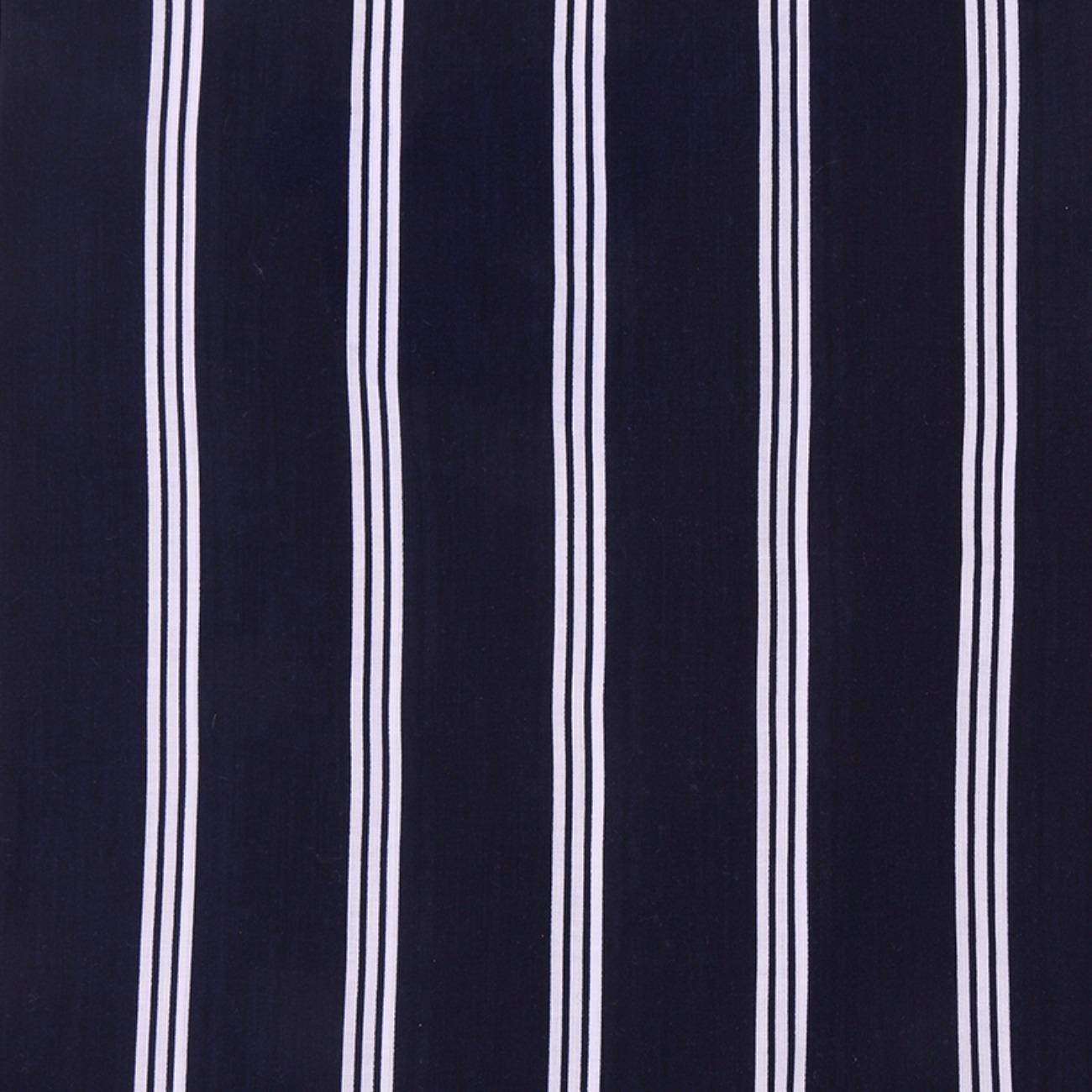 人棉期货条纹梭织印花无弹衬衫连衣裙 短裙 薄 棉感 70522-46