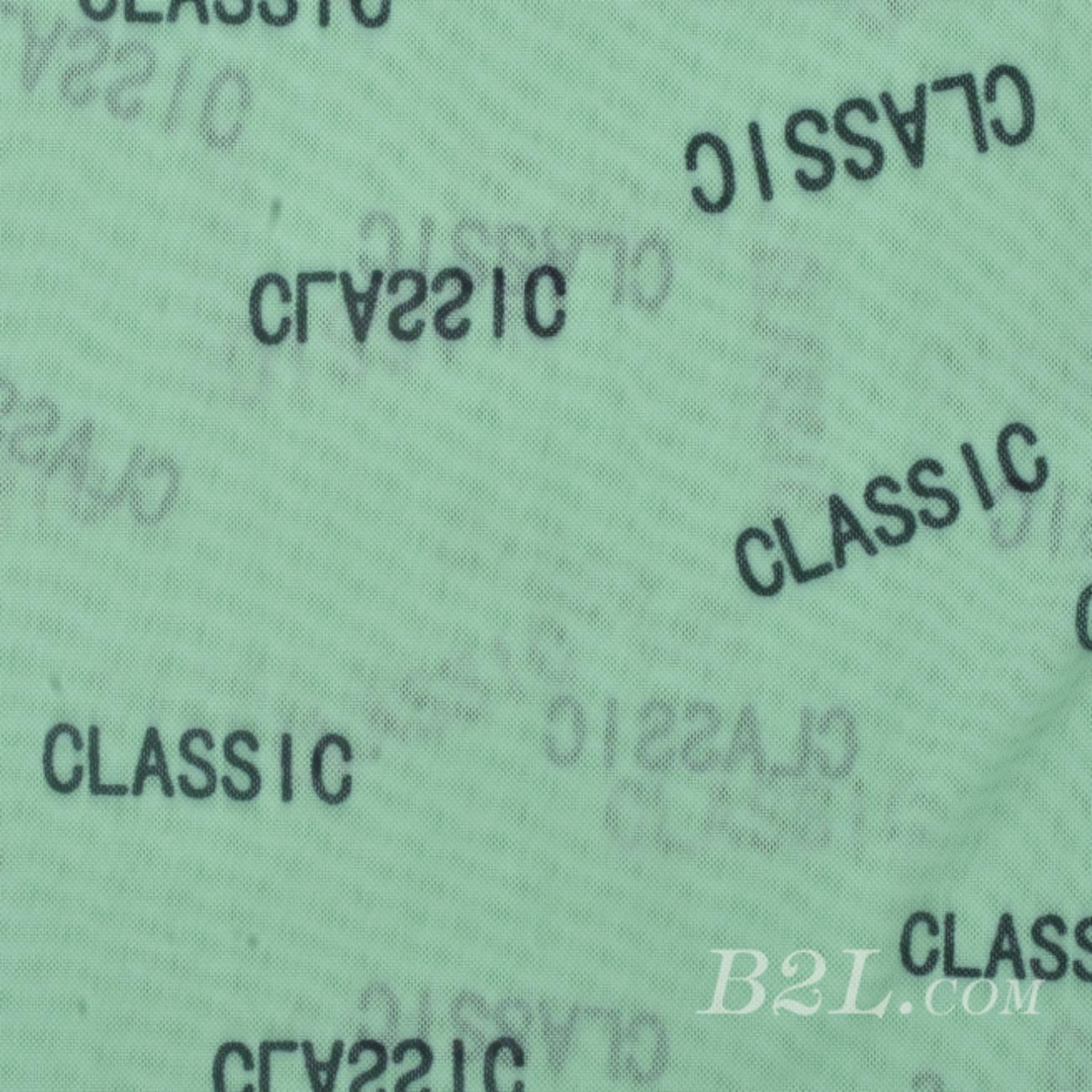 印花 梭織 染色 彈力 字母 春夏 T恤 運動服 時裝 女裝 90921-36