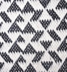 毛纺 梭织 染色 几何 秋冬 大衣 时装 91004-3