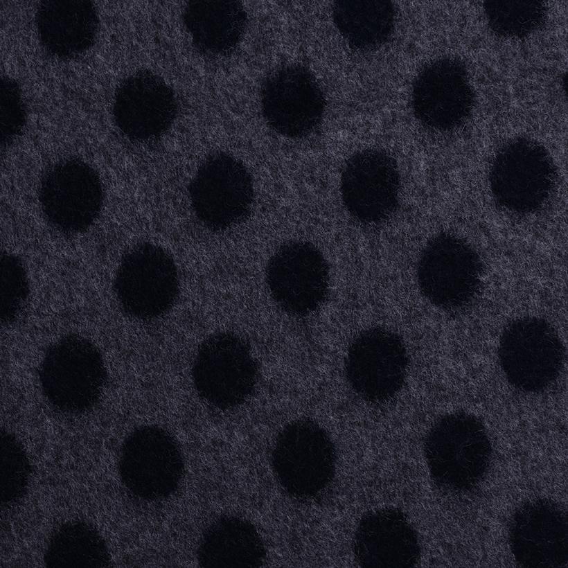 圆点 呢料 柔软 羊毛 大衣 外套 女装 60803-37