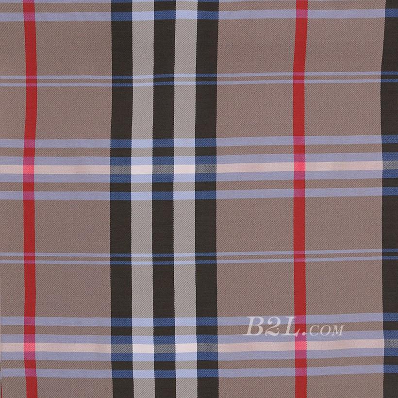 格子 棉感 色织 平纹 外套 衬衫 上衣 70622-12