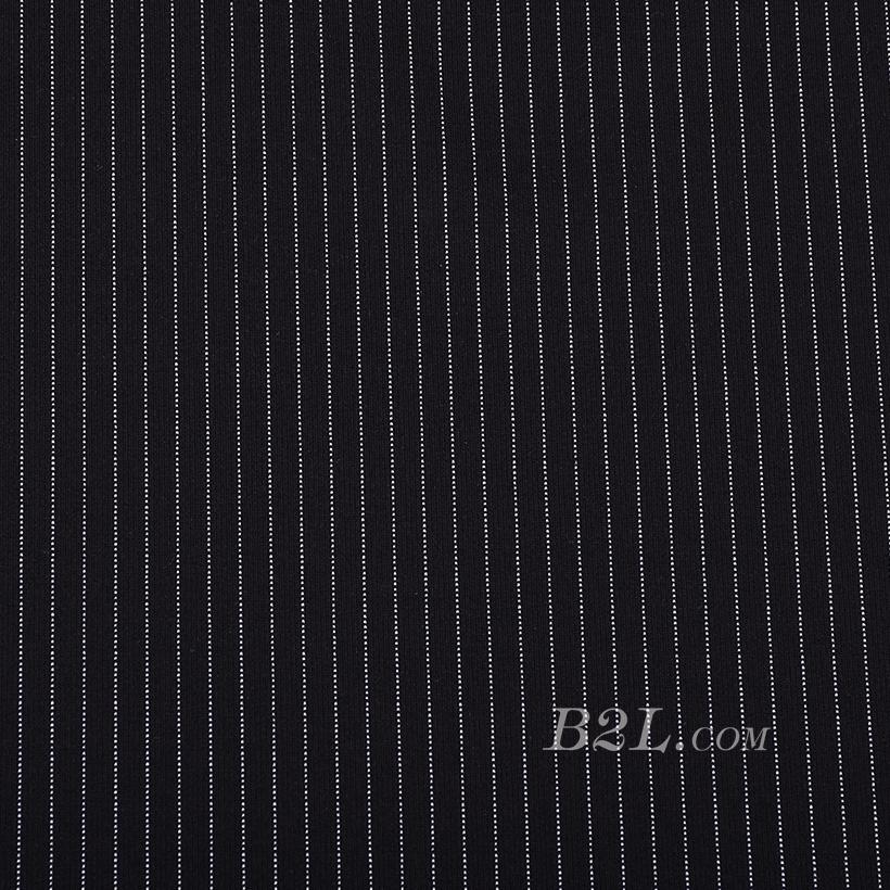 条子 竖条 圆机 针织 纬编 T恤 针织衫 连衣裙 棉感 弹力 60312-139