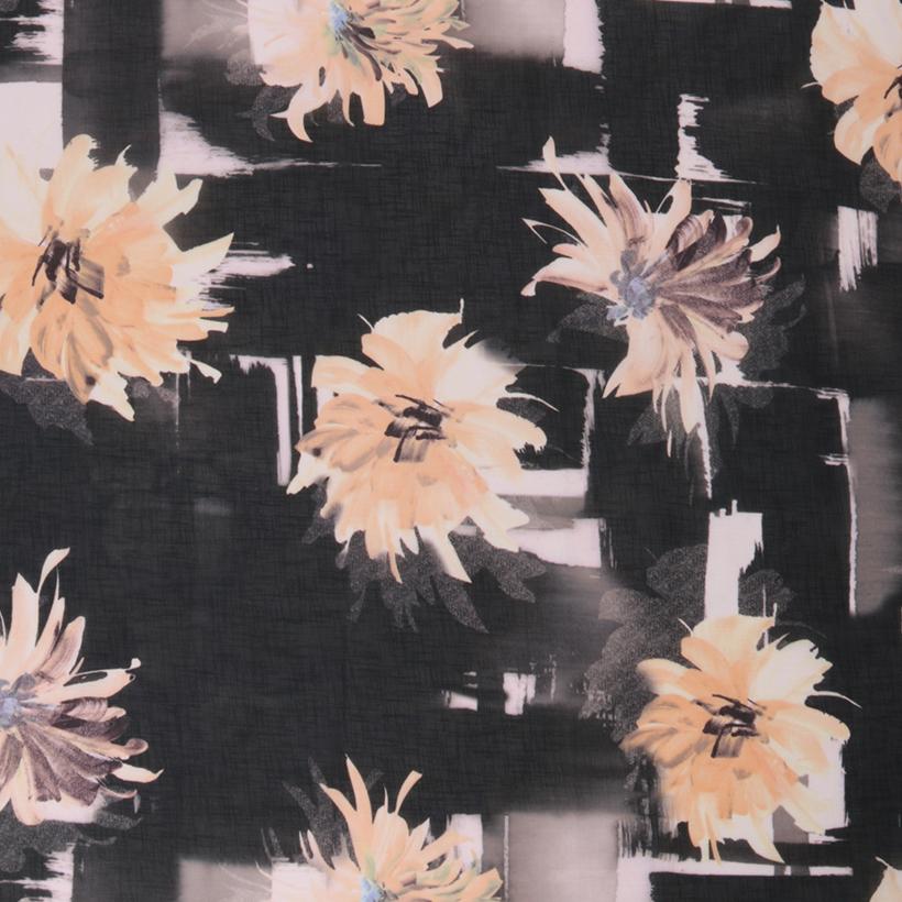 花朵 期货 梭织 印花 连衣裙 衬衫 短裙 薄 女装 春秋 60621-141