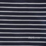 条子 横条 圆机 针织 纬编 T恤 针织衫 连衣裙 棉感 弹力 期货 60312-32
