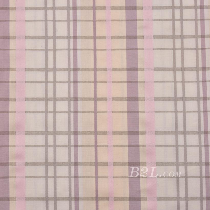 现货 梭织 色织 格子 无弹 春秋 女装 连衣裙 衬衫 80110-10