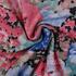 花朵 印花 全涤 柔软 连衣裙 短裙 女装 60421-8
