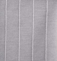 厂家直销毛圈布 春夏新款棉涤条纹卫衣布 240g竖条提花单卫衣面料