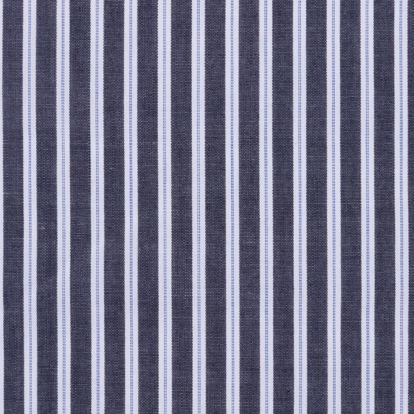 现货 条子 梭织 低弹 柔软 细腻 棉感 衬衫 连衣裙 男装 女装 春夏秋 71028-7