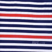 条子 横条 圆机 针织 纬编 T恤 针织衫 连衣裙 棉感 弹力 期货 60312-166