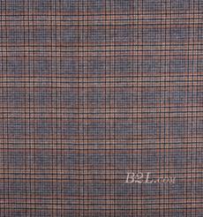 毛纺 格子 梭织 双面 低弹 秋冬 大衣 外套 女装 80815-16