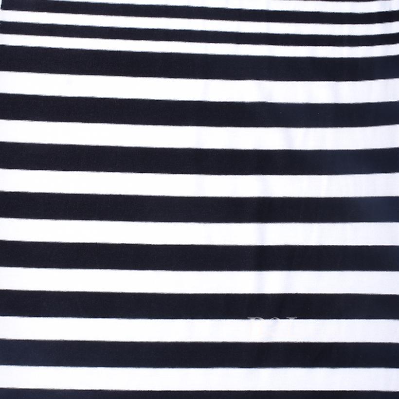 条子 横条 圆机 针织 纬编 T恤 针织衫 连衣裙 棉感 弹力 定位 60312-71