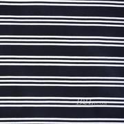 圆机纬编针织弹力条子面料竖条连衣裙棉感衬衫面料期货60311-58