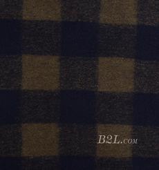 毛纺 低弹 色织 羊毛 外套 大衣 女装80705-5