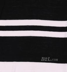 条子 横条 圆机 针织 纬编 T恤 针织衫 连衣裙 棉感 弹力 期货 60312-98