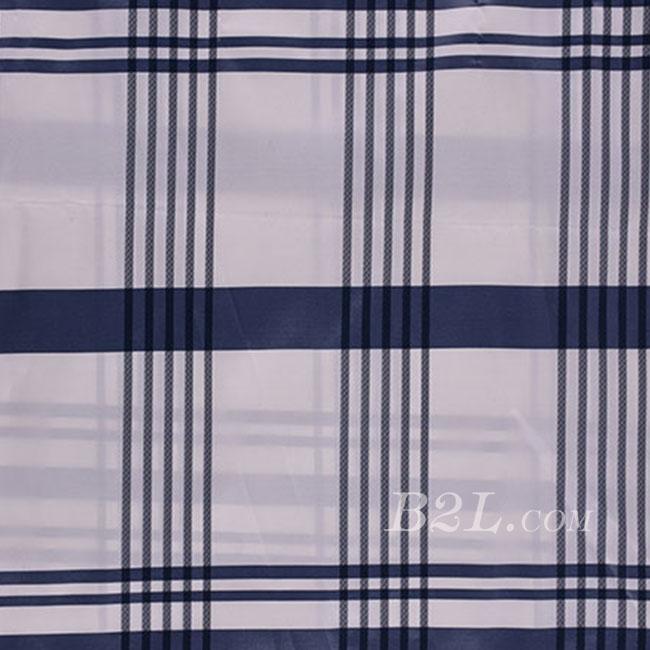 格子 全涤 梭织 色织 无弹 衬衫 外套里布 大衣里布 薄 光面 期货 60401-8