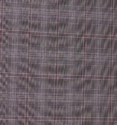 千鸟格 喷气 色织 低弹 衬衫 连衣裙 外套 西装 裤子 女装 70327-15