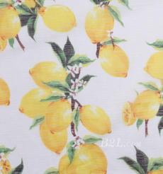 燕窝丝 柠檬 梭织 印花 无弹 衬衫 连衣裙 薄 春夏 女装 期货 71227-11
