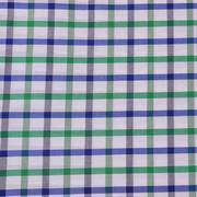 現貨格子梭織色織低彈休閑時尚風格 襯衫 連衣裙 短裙 棉感 60929-3