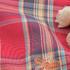 花朵 格子 色织 梭织 绣花 微弹 连衣裙 衬衫 女装 童装 春秋 71227-57