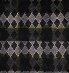 菱形 呢料 柔軟 羊毛 大衣 外套 女裝 70410-12