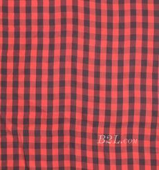 格子 梭織 色織 全銅氨 春秋 連衣裙 外套 時裝 90307-33