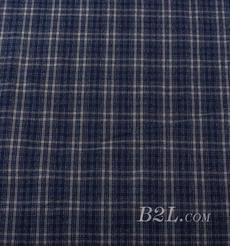 梭织 格子 棉感 色织 平纹 无弹 外套 大衣 连衣裙 期货 60620-9