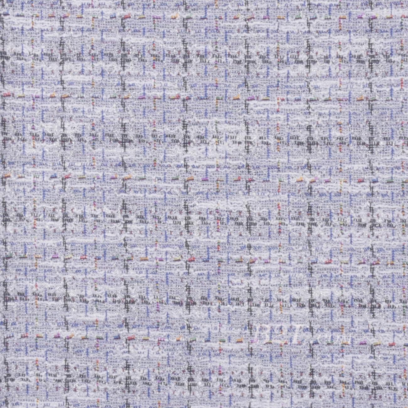 毛纺 针织 染色 格子 低弹 香奈儿风 小香风 秋冬 大衣 女装 时装  90729-11