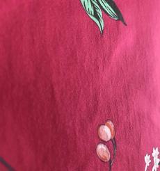 添瑞紡織廠家直銷植物印花萊卡布