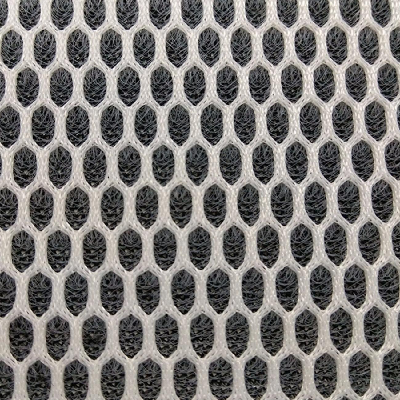 厂家定制六边形三明治网布面料