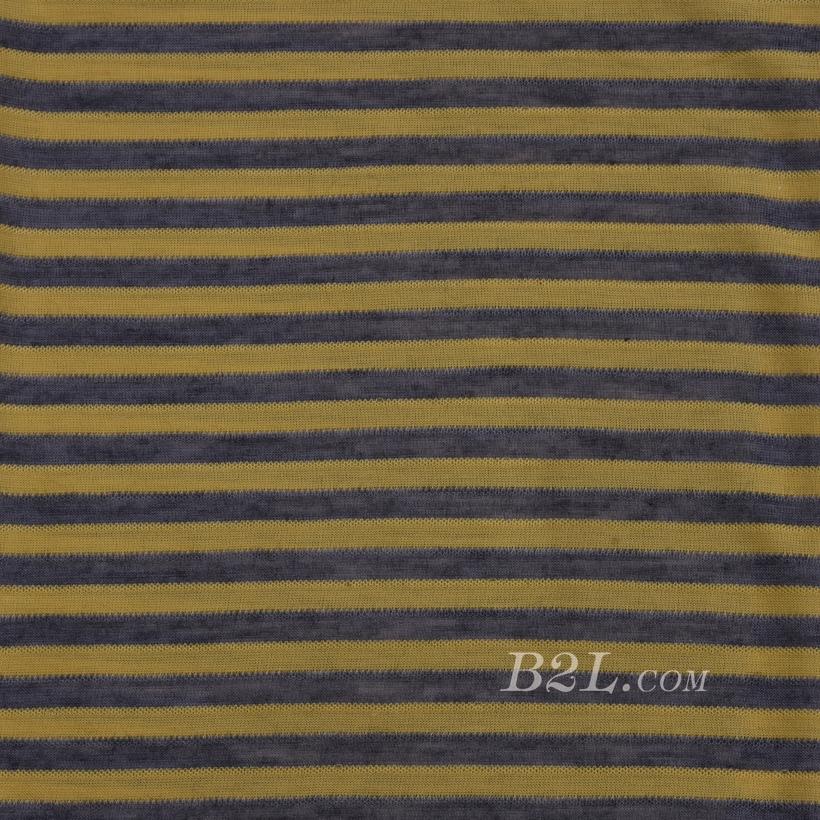 条纹 棉感 提花 平纹 连衣裙 外套 上衣 60701-6