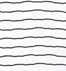 条子 横条 圆机 针织 纬编 T恤 针织衫 连衣裙 棉感 弹力 爱心 期货 60312-83