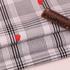 格子 草莓 喷气 色织 印花 低弹 衬衫 连衣裙 女装 春夏 70327-1