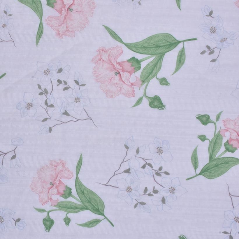 花朵 期货 梭织 印花 连衣裙 衬衫 短裙 薄 女装 春夏 60621-79