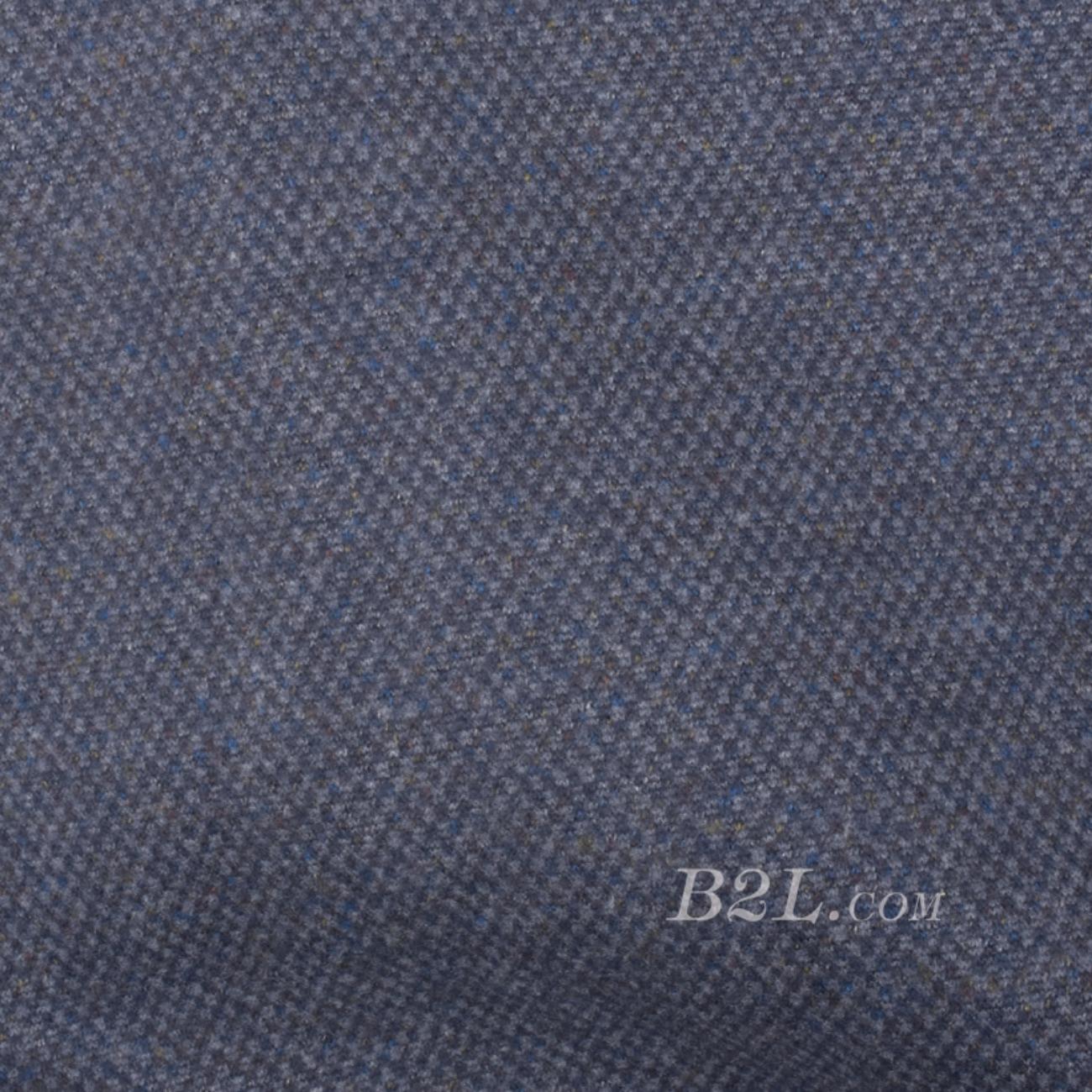 毛纺 针织 染色 四面弹 格子 秋冬 外套 卫衣 91019-25