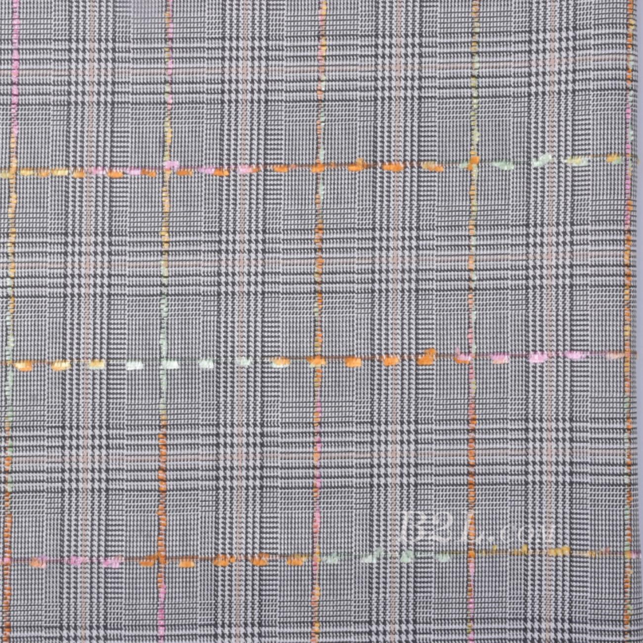 格子 梭織 色織 無彈 春秋 時裝 女裝 90826-27
