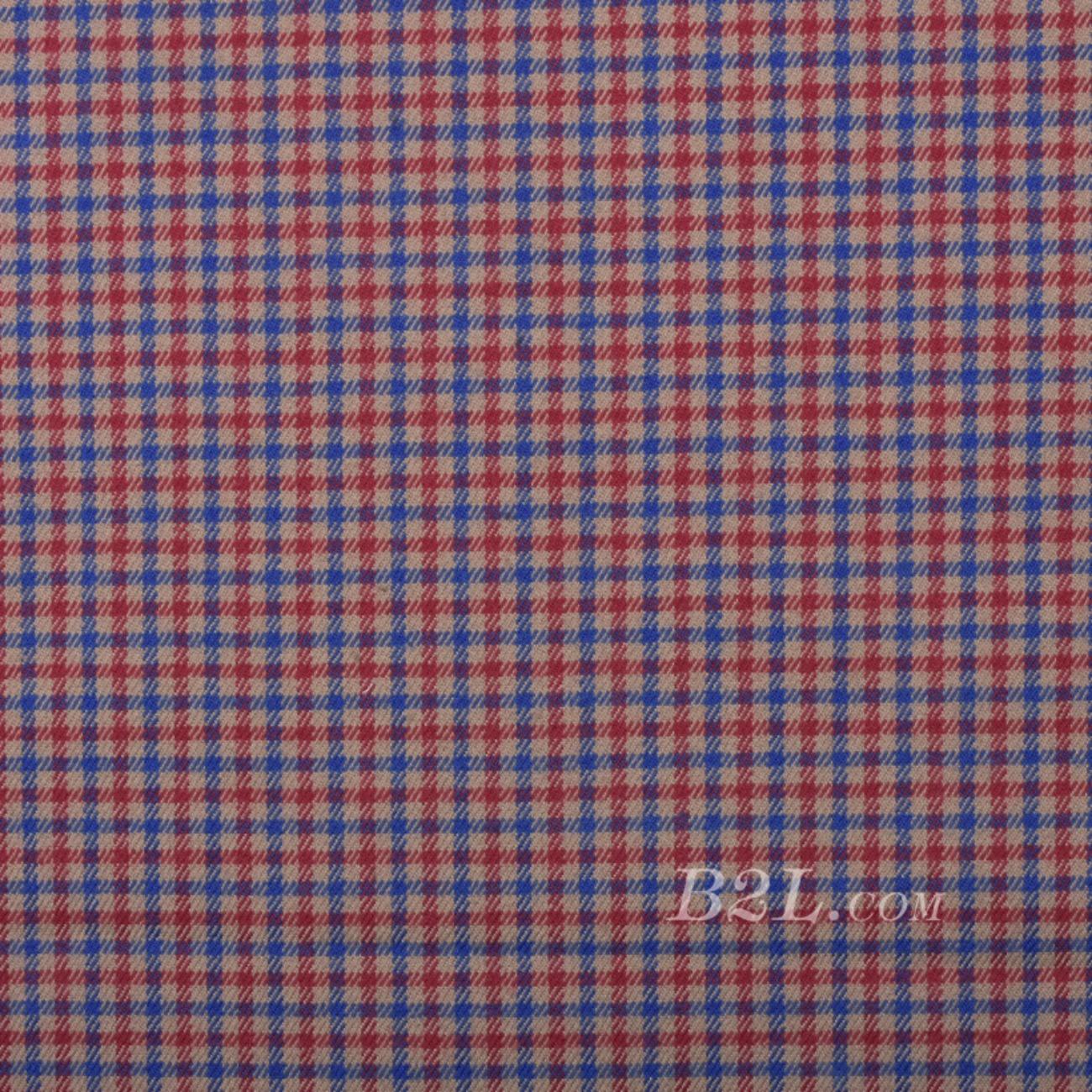 梭织染色格子面料-春秋裤装外套半身裙面料S61