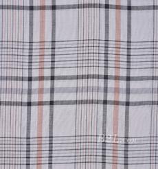 格子 梭织 色织  低弹 棉感 春秋 外套 连衣裙 80903-6