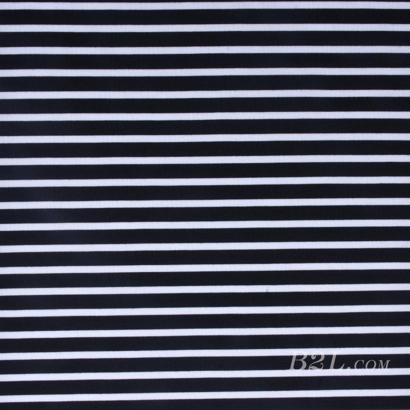 条子 横条 圆机 针织 纬编 T恤 针织衫 连衣裙 弹力 期货 60312-131