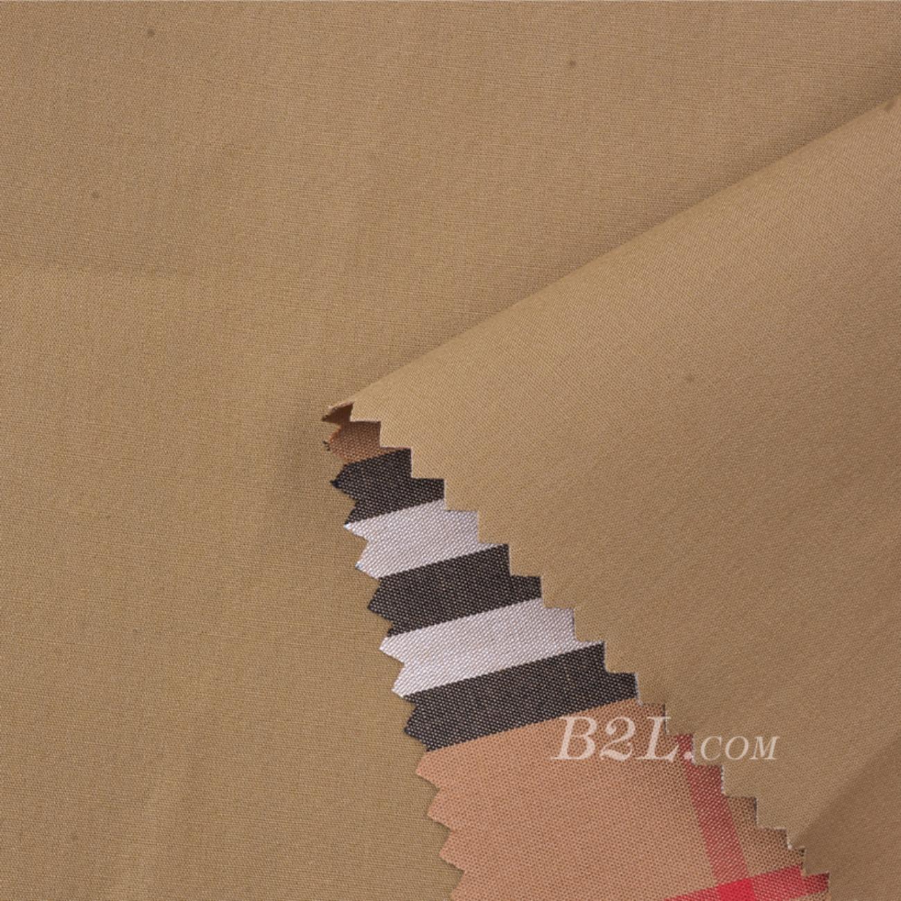 素色 格子 梭织 染色 复合 无弹 春秋夏 外套 工装  91203-1