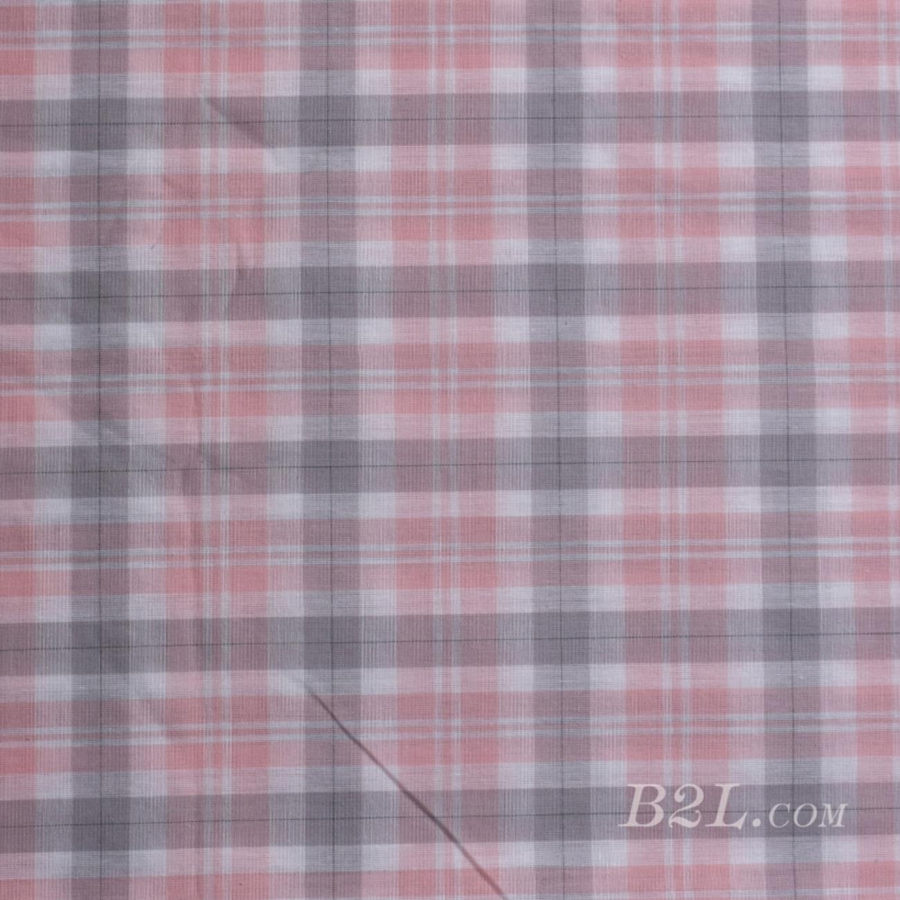 梭织染色格子面料-春夏连衣裙外套衬衫面料 Z18