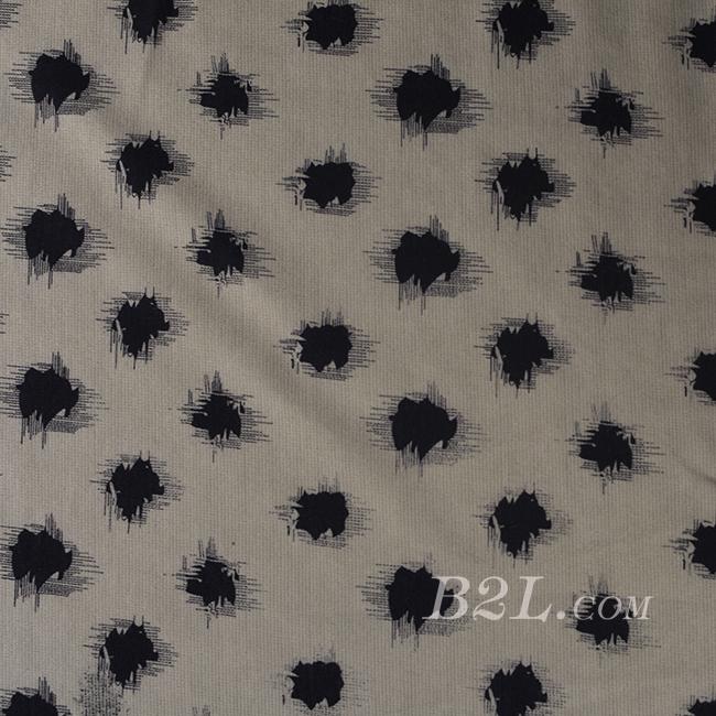 圆点 针织 单面 印花 低弹 外套 短裙 连衣裙 60526-6
