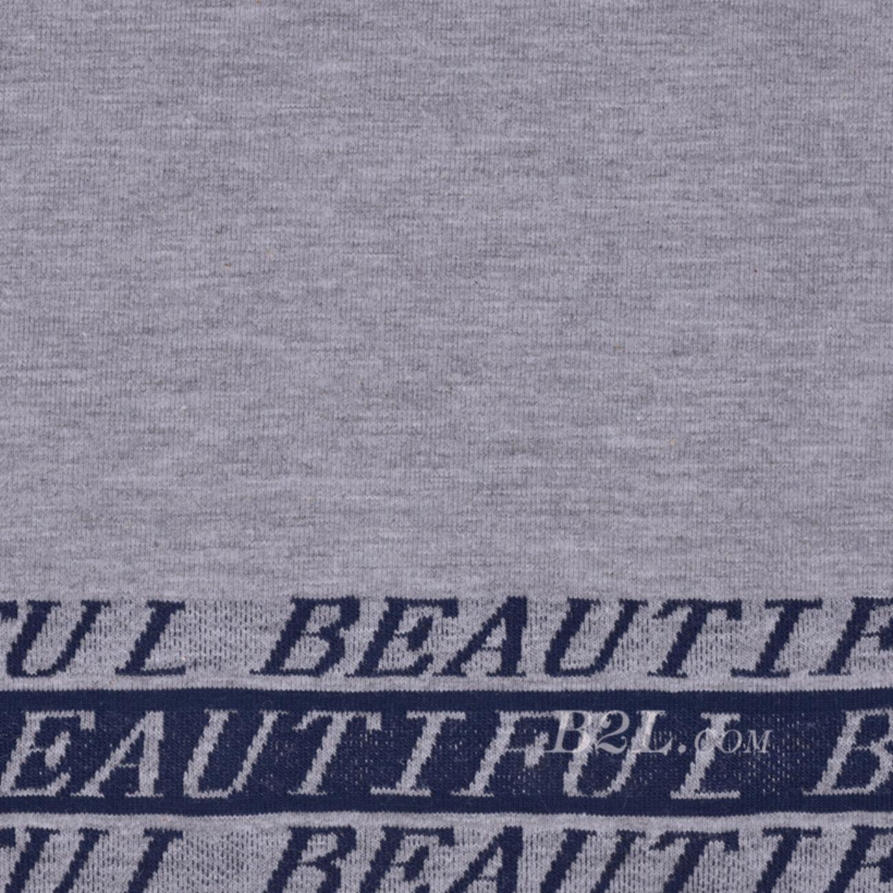期货 针织 条子 单面 字母 高弹 棉感 连衣裙 T恤 女装 80509-12