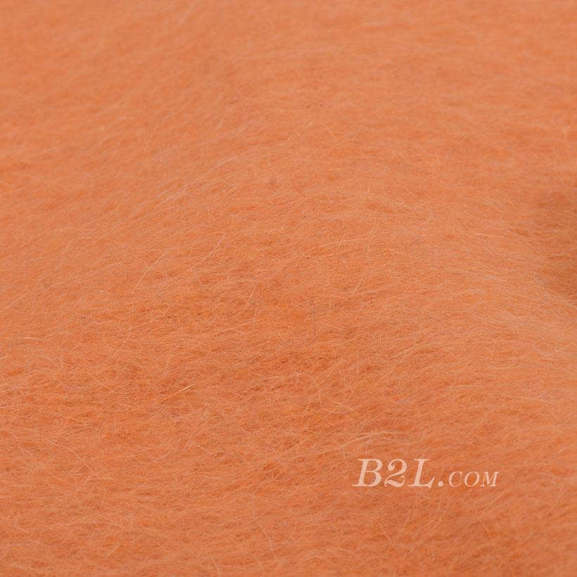 素色 针织 毛呢  柔软 绒感 羊毛 大衣 低弹 外套 秋冬 女装 80311-17