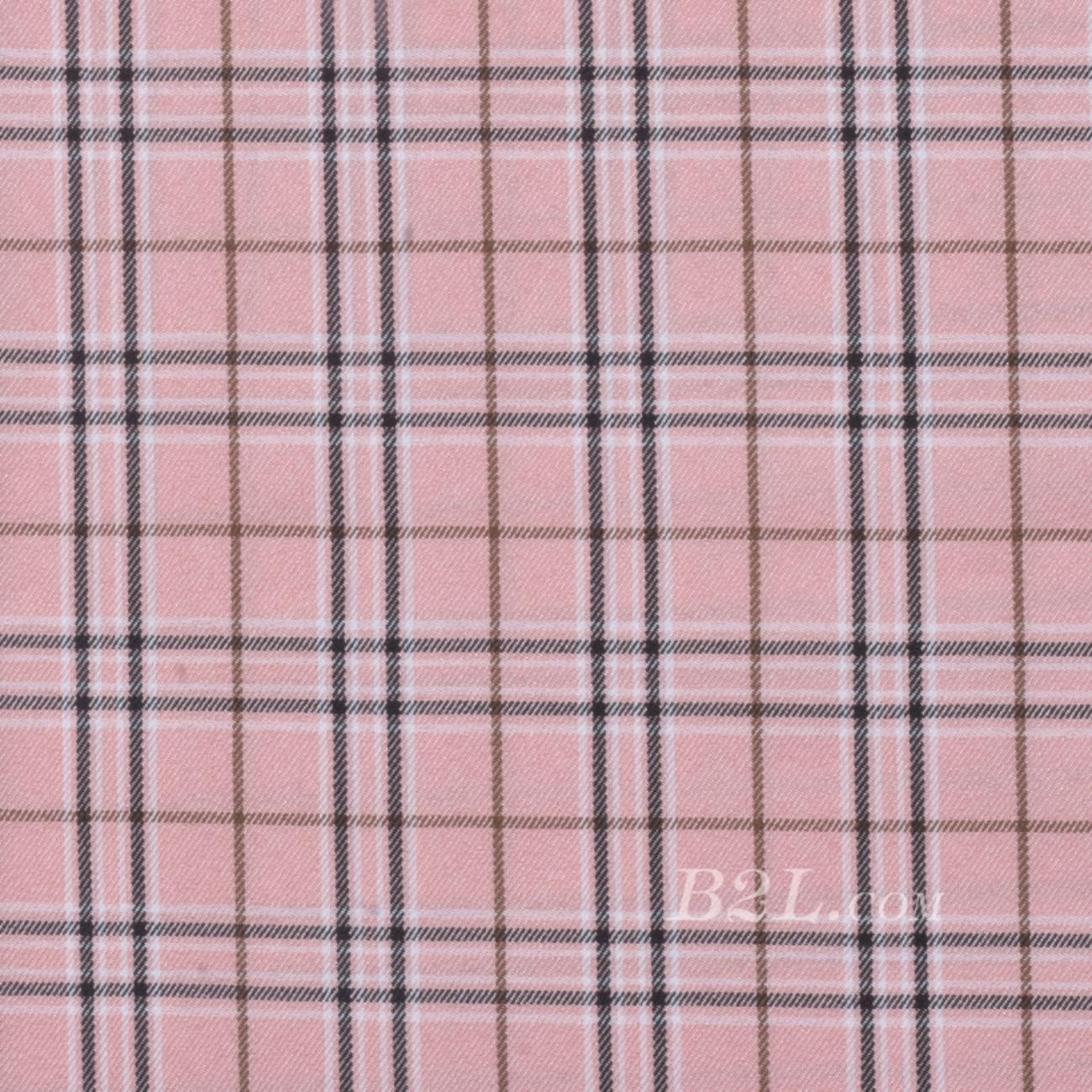 格子 梭织 色织 斜纹 春秋 女装 外套 时装 90826-7