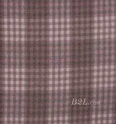 毛纺 梭织 羊毛 格子 绒感 双面尼 厚 大衣 秋冬 女装 80322-8